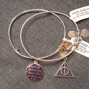 ALEX AND ANI HARRY POTTER SET OF 2  NWT!  $ 70
